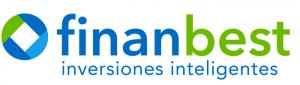 Logotipo del robo advisor o robo asesor Finanbest; gestor automatizado en España
