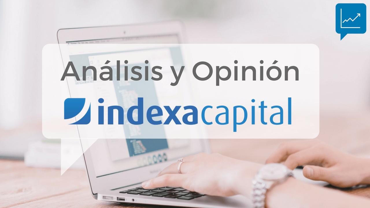 Portada de la guía completa sobre indexa capital, donde se muestra las opiniones, análisis y valoración final de este roboadvisor