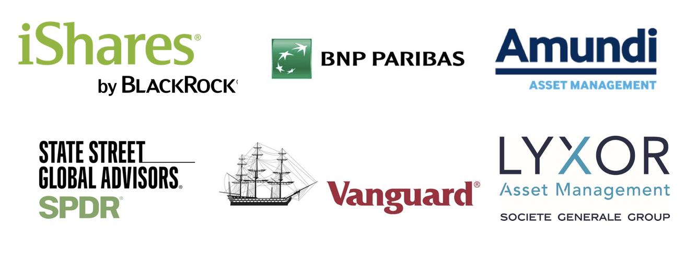 Principales gestoras de los Planes de Pensiones indexados de CNP Partners Morningstar