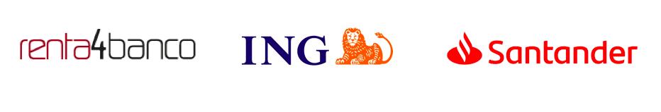 Entidades bancarias que forman los Planes de Pensiones de ING