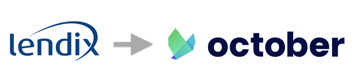Lendix cambió su nombre y logotipo a October