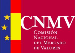 Logotipo de la Comisión Nacional del Mercado de Valores