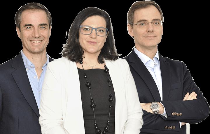 Equipo de Finanbest con Asier Uribeechebarria