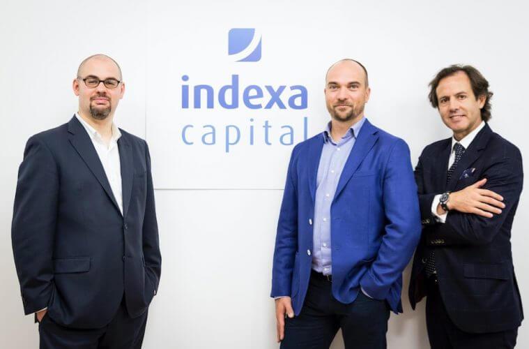 Equipo fundador de Indexa Capital, con Unai Ansejo como CEO