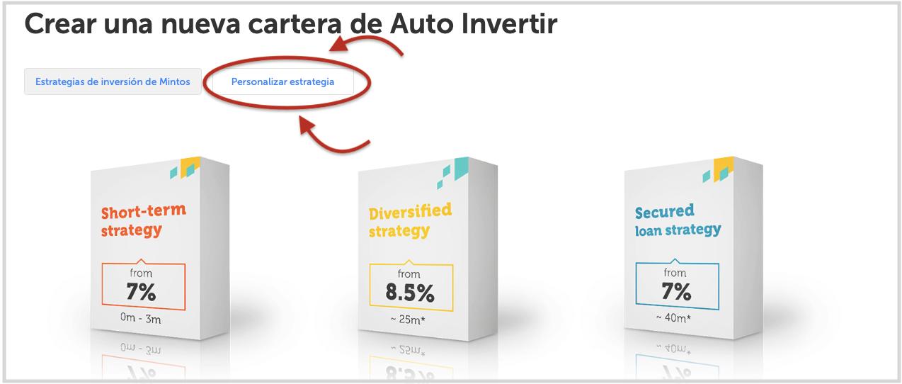 Explicación del funcionamiento del sistema de inversión automática en Mintos