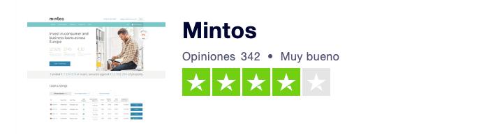 Opiniones y comentarios de clientes de Mintos en España