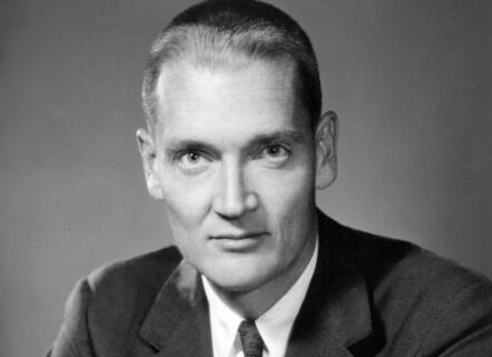 John Clifton Bogle en su época de estudiante
