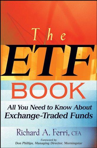 Libro de gestión pasiva para invertir en ETFs, por Richard Ferri