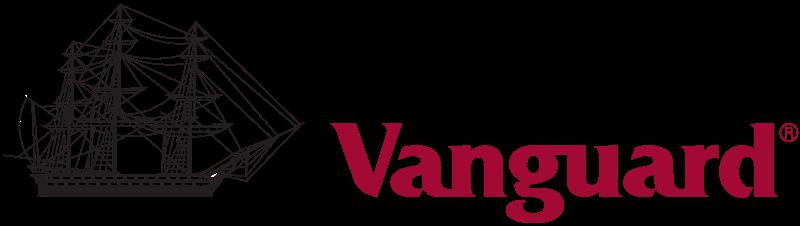 Logotipo de Vanguard, una de las gestoras de fondos indexados más conocidas a nivel mundial
