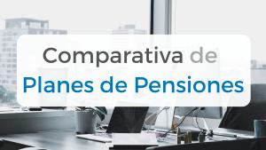 Imagen de la comparación de los mejores Planes de Pensiones indexados en España