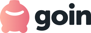 Logo de la app de redondeo goin