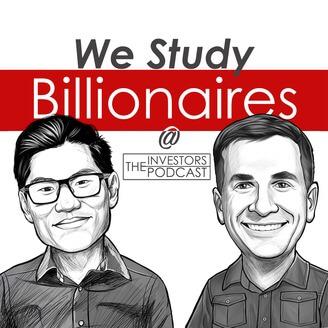 The investors podcast es un programa donde estudian las personas billonarias