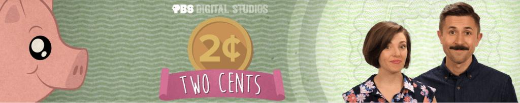 Canal de ahorro de youtube llamado Two cents