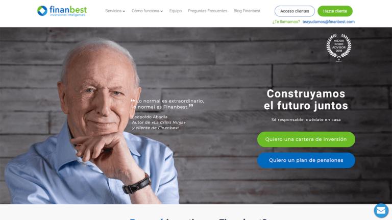 Página web de Finanbest