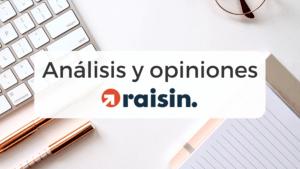 Análisis y opiniones de la plataforma digital Raisin