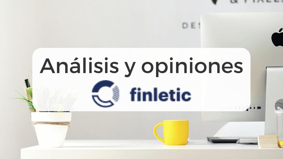Análisis y opiniones de Finletic
