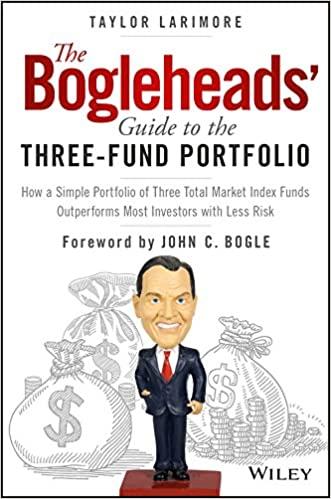 Portada del libro Three Fund Portfolio