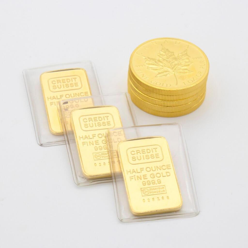 Inversión en oro físico