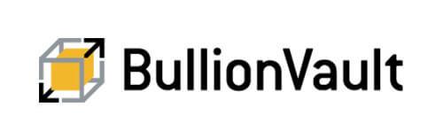 Logo de Bullionvault, una plataforma online de inversión en oro