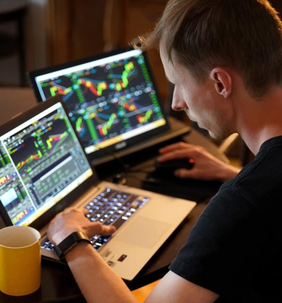 Trading mercado de divisas