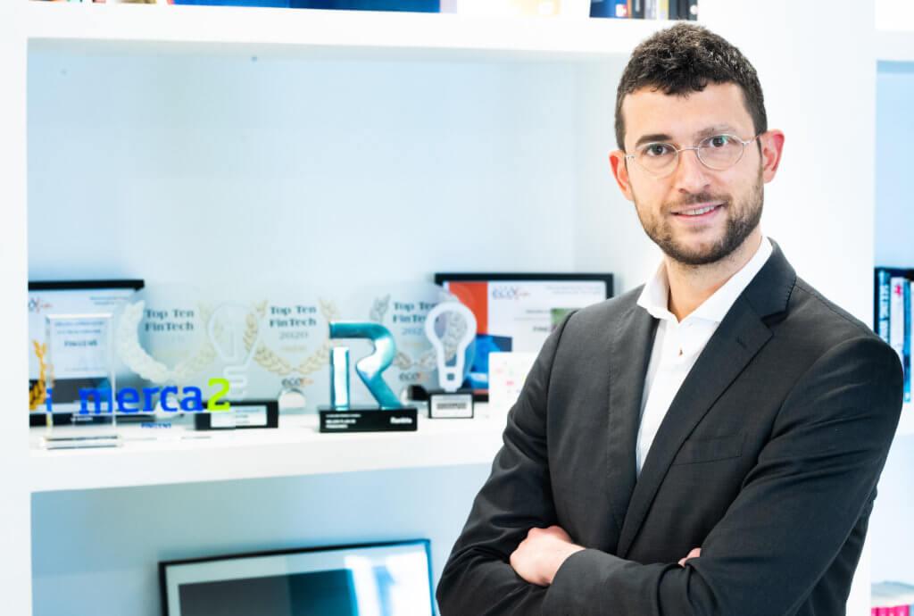 Fotografía de Giorgio Semenzato, CEO de Finizens
