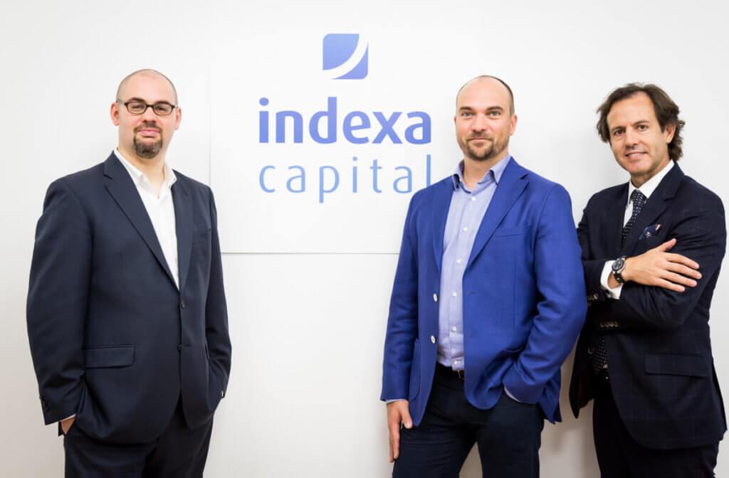 Imagen del equipo fundador de Indexa Capital